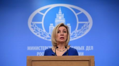 """Sacharowa über die Krim: """"Wir geben unsere Territorien nicht zurück"""""""
