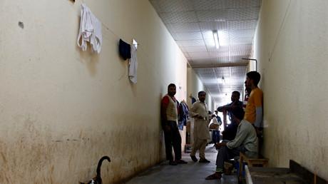 Ausländische Arbeiter in einer Unterkunft in Saudi-Arabien, 18. August 2016.