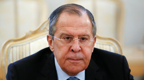 Der russische Außenminister Sergei Lawrow