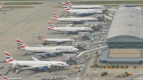 Terrorverdächtiger am Flughafen Heathrow festgenommen