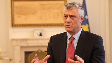 Das Staatsoberhaupt des Kosovo, Hashim Thaçi.