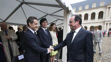 Im Visier der NSA: Der amtierende Präsident Hollande und sein Vorgänger Sarkozy