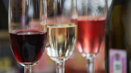 Krim-Wein erfreut Besucher einer Fachmesse in Rom