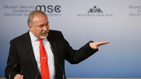Der israelische Verteidigungsminister Avigdor Lieberman auf der Münchner Sicherheitskonferenz, 19. Februar 2017.