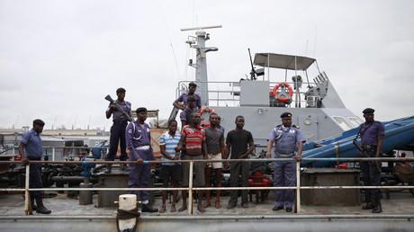 Nach Piraten-Angriff auf Schiff in Nigeria: Drei russische Seemänner heimgekehrt   (Symbolbild)