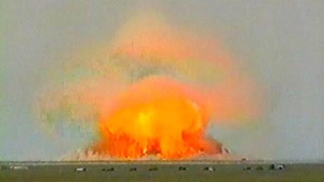 Nach mysteriöser Jod-131-Freisetzung: Ursache soll russischer Nuklearwaffentest sein - Daily Star