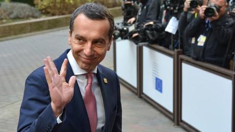 Österreichs Bundeskanzler Kern ruft zur Revision der Sanktionen gegen Russland auf