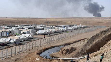 Flüchtlingslager im Süden von Mossul.