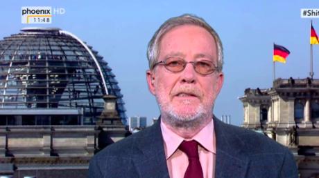 Hendrik Zörner, Sprecher des Deutschen Journalisten Verbandes (DJV) - Bildquelle: Screenshot Phönix