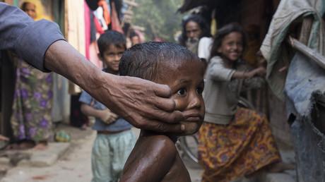 Rohingya-Flüchtlinge in Kutupalong, Bangladesch; 21. Februar 2017.