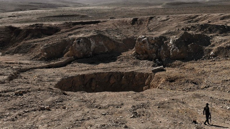 """""""Islamischer Staat"""" vermint Massengrab bei Mossul"""