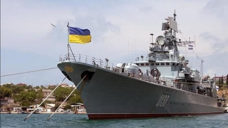 Die Ukraine will ihre Marine mit ausgemusterten NATO-Schiffen ergänzen