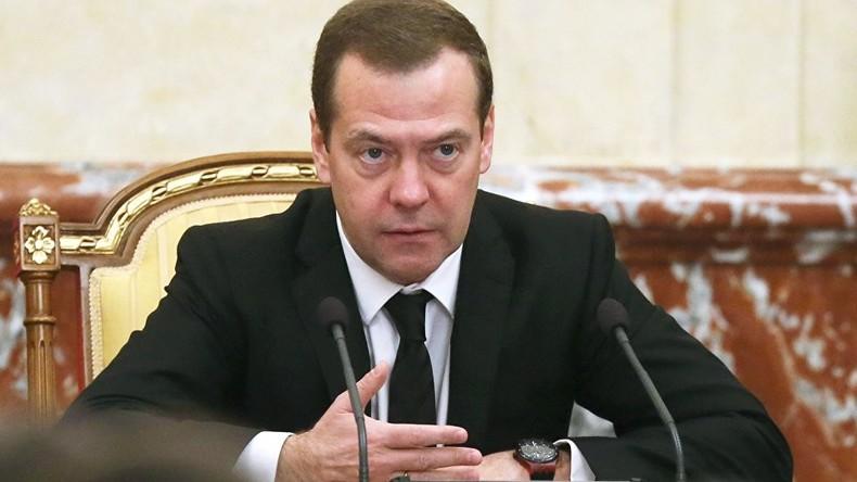"""Medwedew vor Russischem Investmentforum: """"Wir dürfen uns nicht länger auf andere verlassen"""""""