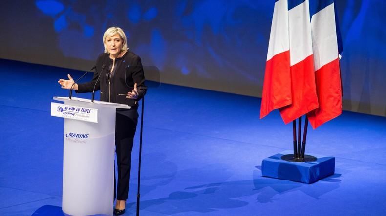 EU-Parlament droht Le Pen mit Verlust der politischen Immunität einer Abgeordneten