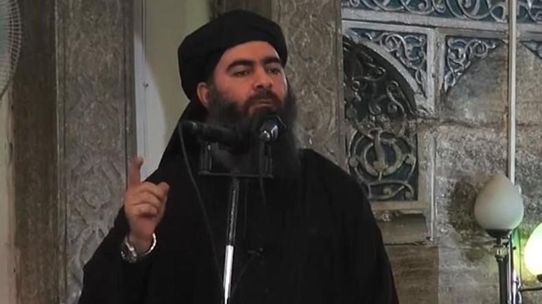 """IS-Anführer Al-Baghdadi bekennt Niederlage des """"Islamischen Staates"""" im Nordwesten Iraks"""