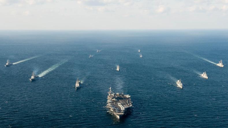 Internationale Kriegsspiele: Südkoreaner und Amerikaner proben den Militärschlag gegen den Norden