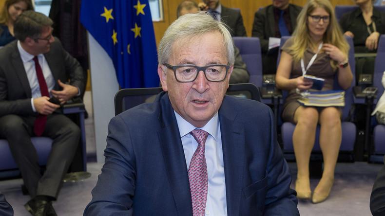 EU-Kommissionspräsident Junker präsentiert fünf Szenarien für die Zukunft der Union nach Brexit