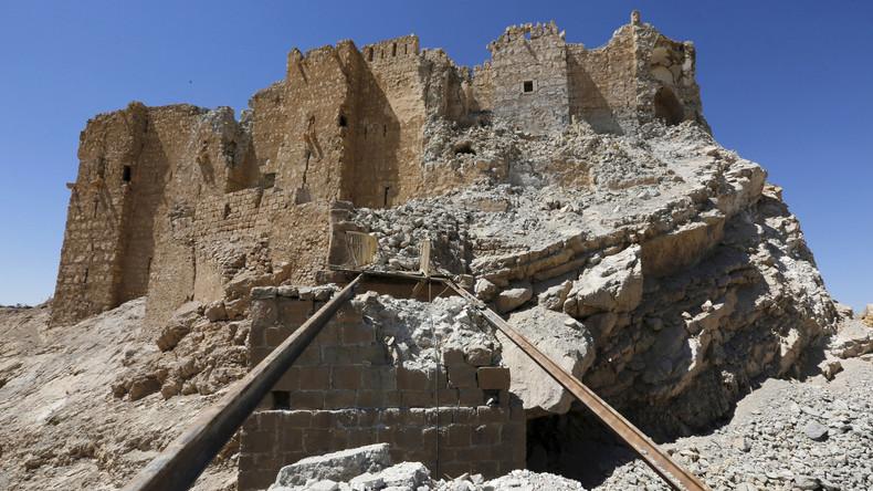 Zitadelle in Palmyra wieder vom IS befreit