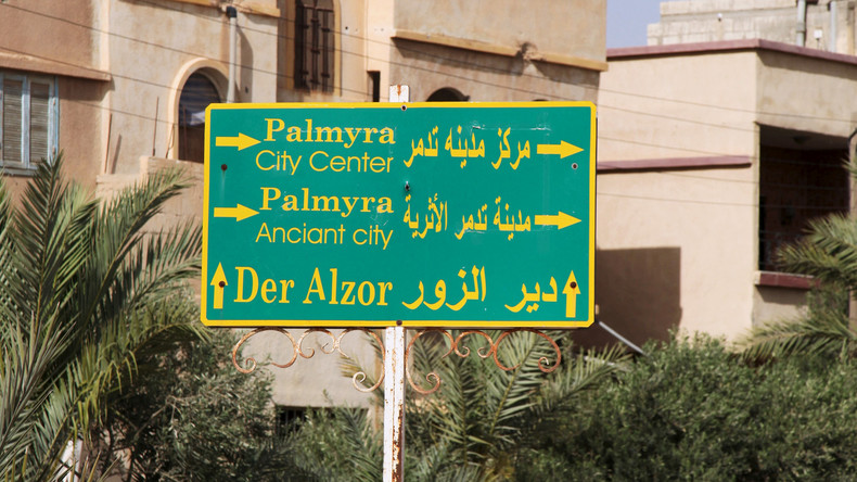 """Syrische Armee befreit Palmyra und will dem """"Islamischen Staat"""" wichtige Erdölquellen entreißen"""
