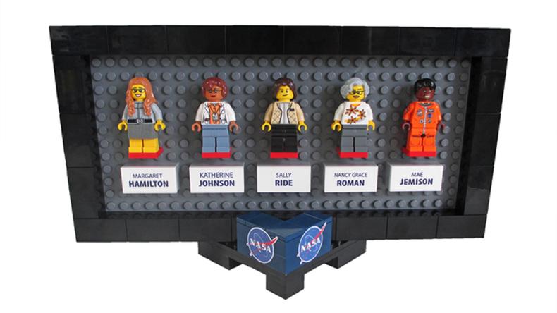 NASA-Astronautinnen werden zu Lego-Figuren