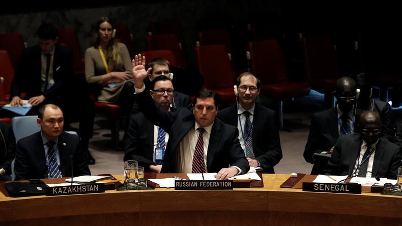 Erste Konfrontation zwischen USA und Russland im UN-Sicherheitsrat seit Donald Trump