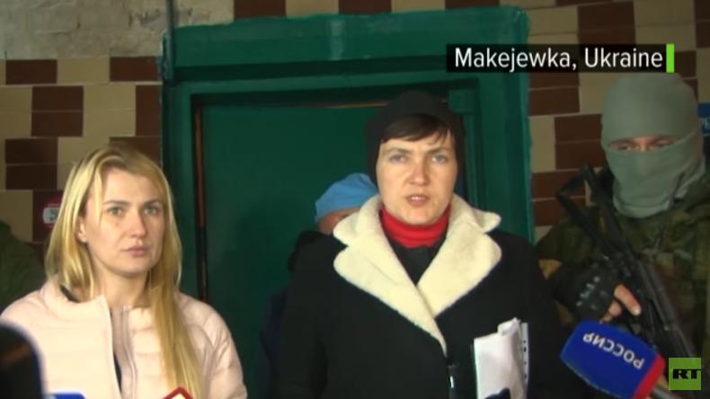 Ukraine: Heftige Kritik an Nadija Sawtschenko weil sie ukrainische Gefangene im Donbass besucht hat