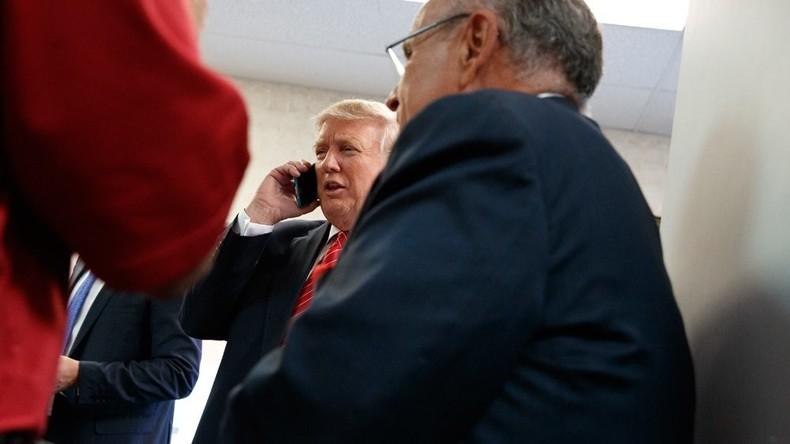 US-Kongress will Donald Trump die Handynutzung verwehren