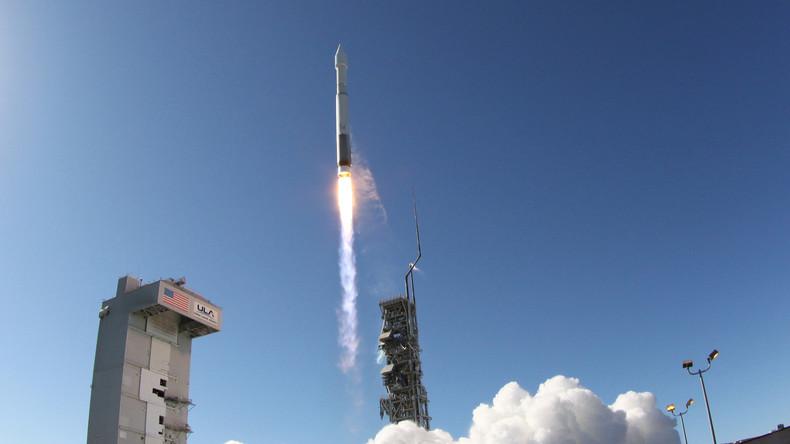 USA schicken Aufklärungssatellit mit Trägerrakete Atlas V ins All