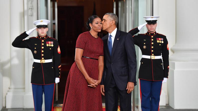 Memoiren des Ehepaars Obama könnten für 60 Millionen US-Dollar verkauft werden