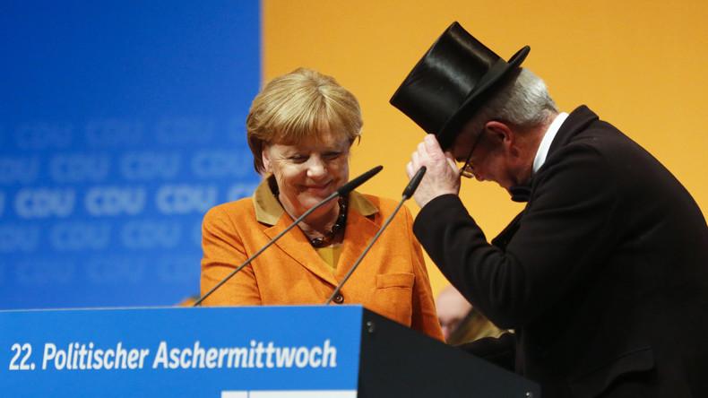 Angela Merkel beim Aschermittwoch der CDU