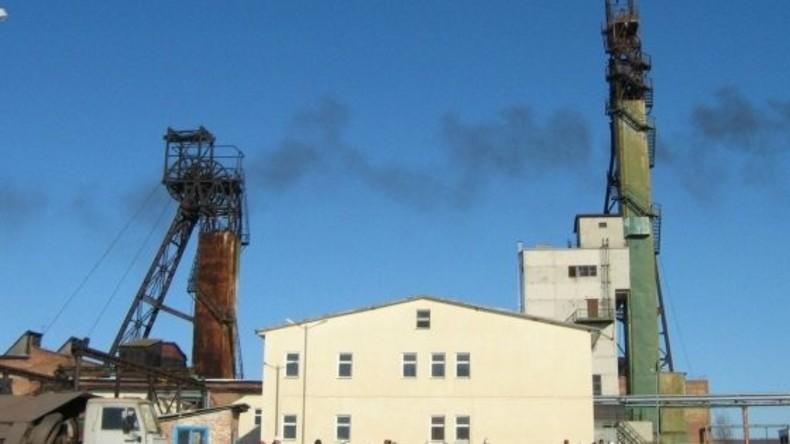 Methan explodiert im westukrainischen Bergwerk