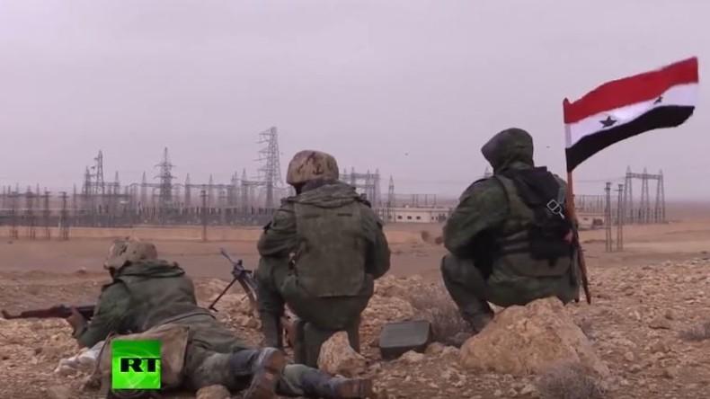 RT-Exklusiv: Syrische Spezialeinheiten während Eroberungsoperation von Palmyra