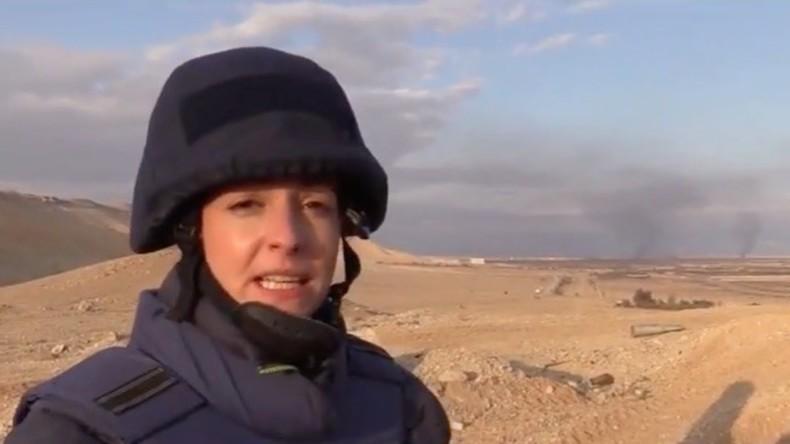 Exklusiv: RT berichtet als erstes internationales TV-Team aus dem wiedereroberten Palmyra