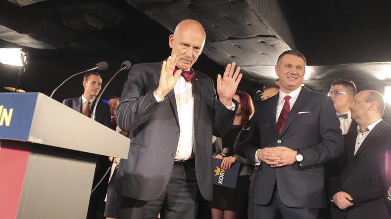 Polnischer EU-Abgeordneter blamiert sich mit Sexismus