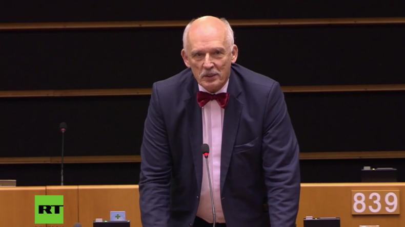 Korvin-Mikke im EU-Parlament