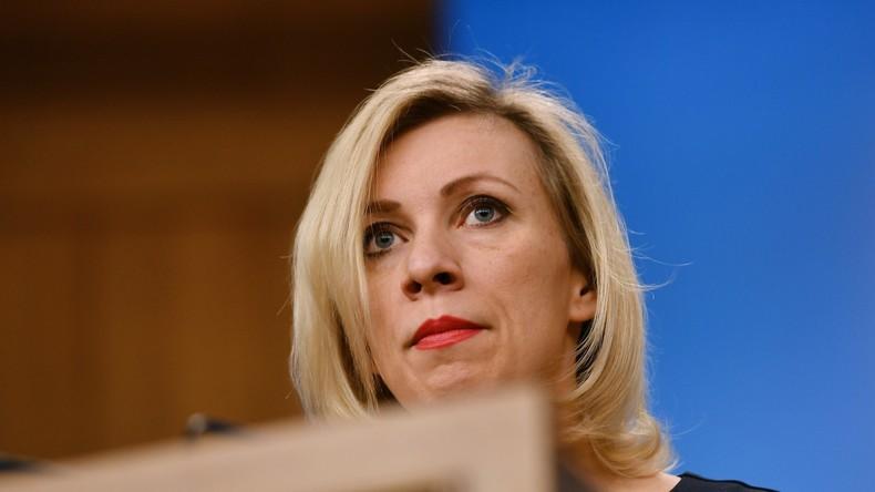 """Russischer Außenamtssprecherin platzt der Kragen: """"CNN, hören Sie auf Fake News zu verbreiten"""""""
