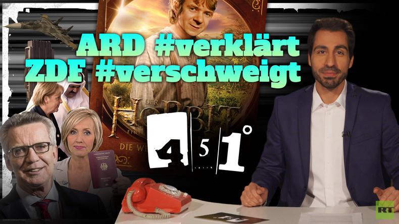 451 Grad: ARD-Reporter bei Herr der Ringe [23]