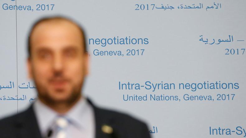 Syriengespräche in Genf: Westliche Gönner drängen Rebellenvertreter zum Verhandeln