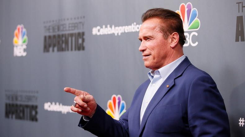 Arnold Schwarzenegger verlässt Fernseh-Reality-Show wegen Donald Trump