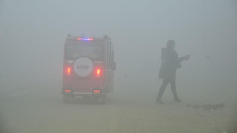 """Smog-Bekämpfung in China: Ministerpräsident Li Keqiang verspricht, das """"Himmelsblau"""" zurückzuholen"""