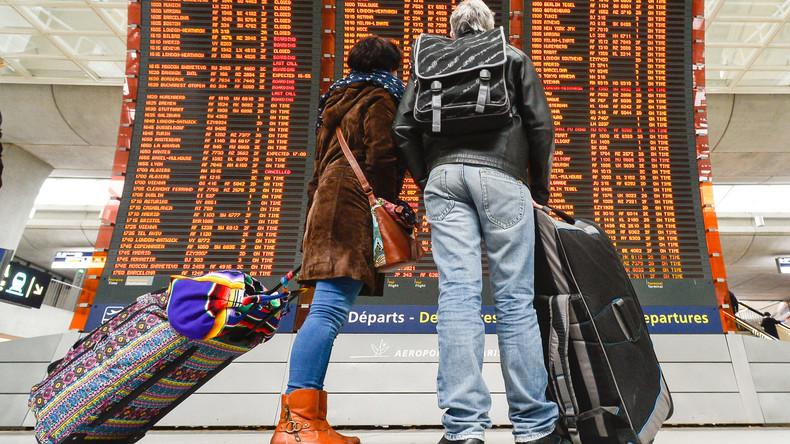 300 Flüge abgesagt wegen Streiks an französischen Flughäfen