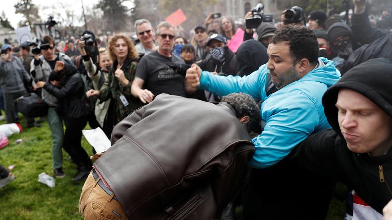 Pro-Trump-Demos: Berkeley-Universität wird zum Schlachtfeld