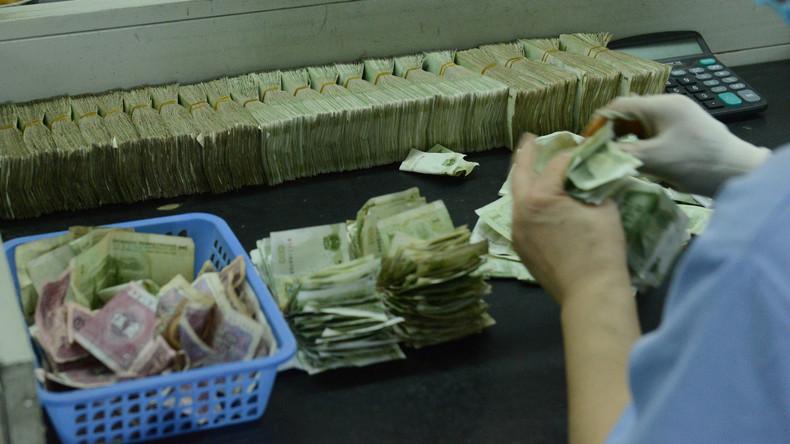 Chinesisches Bankensystem nun größtes der Welt