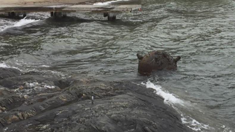 Seemine nach 86 Jahren an schwedischer Küste angeschwemmt