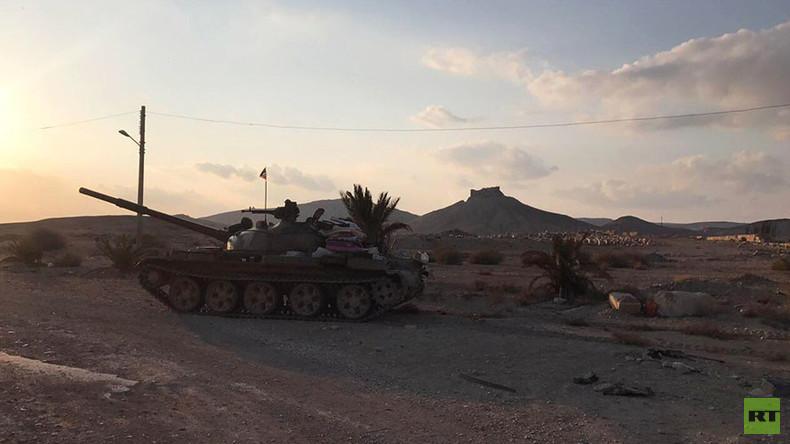 Russisches Verteidigungsministerium: Russischer Soldat im Kampf gegen IS bei Palmyra gefallen