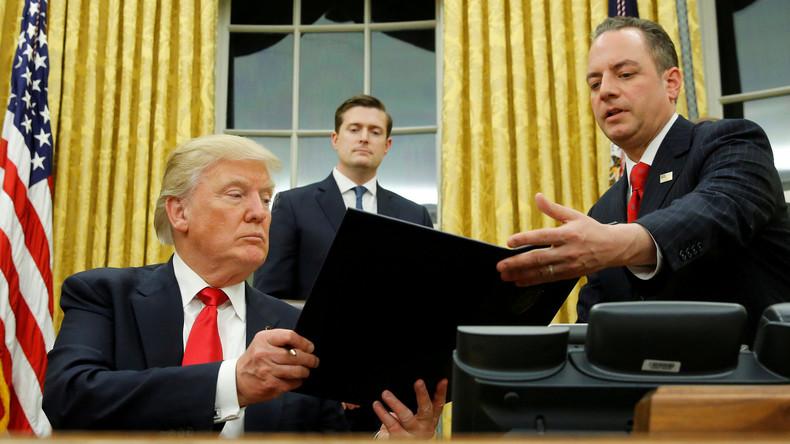 Trump ruft neues Migrationsgesetz ins Leben