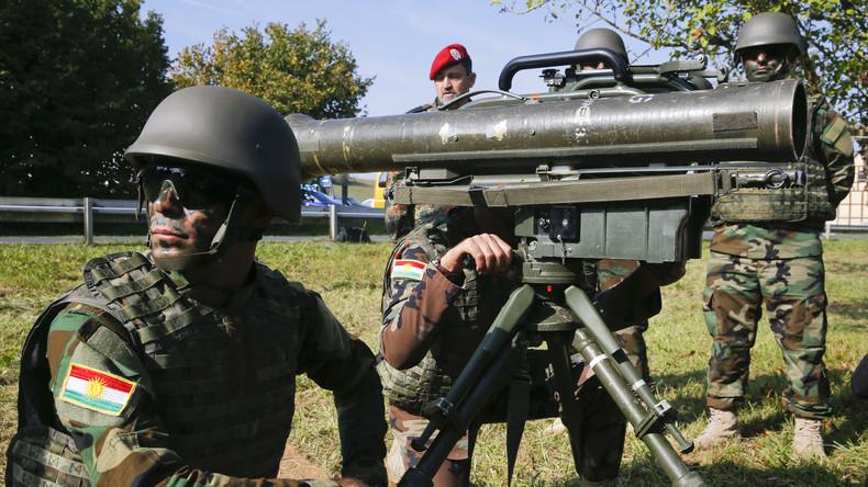 Gefahr eines kurdischen Bürgerkrieges - ausgefochten mit deutschen Waffen
