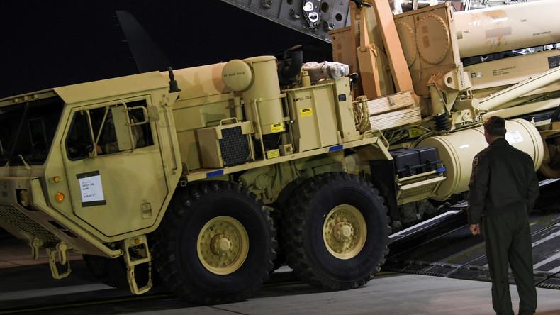 Die USA stationieren Raketenabwehrsystem THAAD in Südkorea