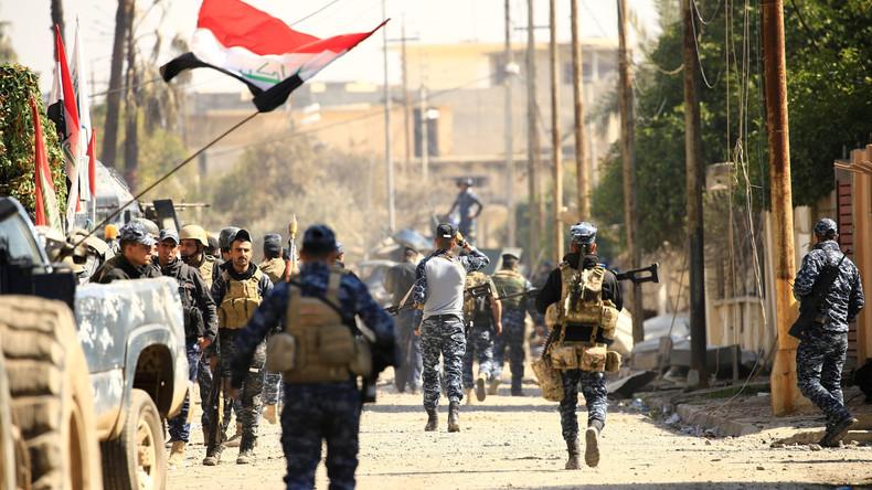 Irakische Armee erobert zentrales Regierungsgebäude in Mossul zurück