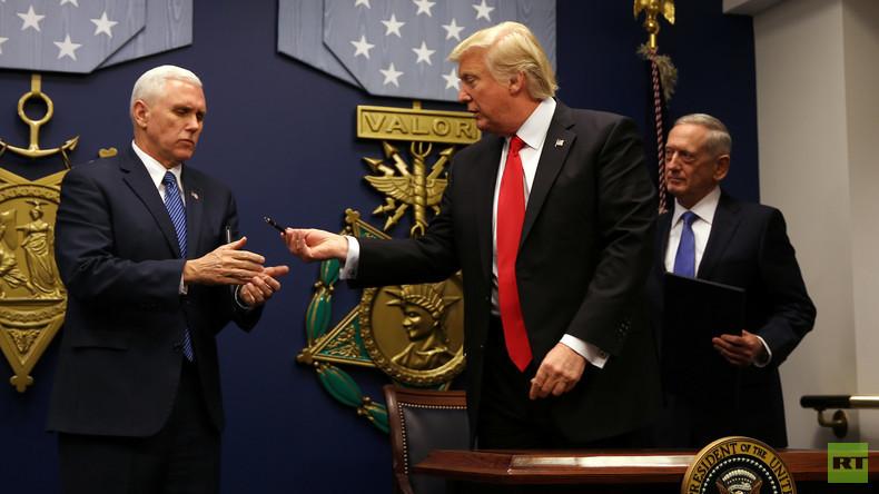"""Trump bereitet neuen """"Muslim Ban"""" vor: Iraker nicht mehr betroffen"""